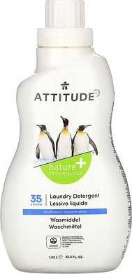 ATTITUDE Laundry Detergent, Wildflowers, 35 Loads, 33.5 fl oz (1.05 l)  - купить со скидкой