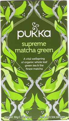 Supreme Matcha Green, 20 Green Tea Sachets - 1.05 oz (30 g) Each  - купить со скидкой