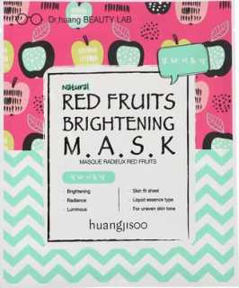 Купить Huangjisoo Red Fruits Brightening Mask, 1 Sheet, 25 ml