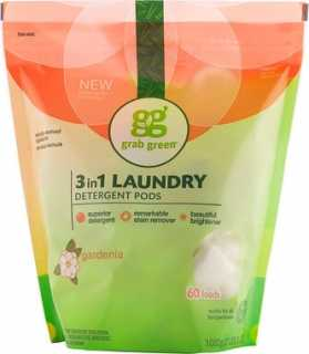 Купить 3-in-1 Laundry Detergent Pods, Gardenia, 60 Loads, 2lbs, 6oz (1, 080 g)