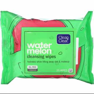 Купить Clean & Clear Watermelon Cleansing Wipes, 25 Wipes