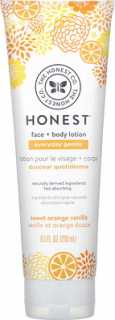 Купить The Honest Company Everyday Gentle, Face + Body Lotion, Sweet Orange Vanilla, 8.5 fl oz (250 ml)