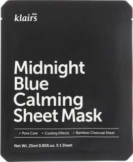 Купить Dear, Klairs Midnight Blue Calming Sheet Mask, 1 Sheet, 0.85 fl oz (25 ml)