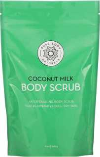 Купить Pure Body Naturals Coconut Milk Body Scrub, 12 oz (340 g)