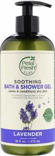 Купить Petal Fresh Pure, Soothing Bath & Shower Gel, Lavender, 16 fl oz (475 ml)