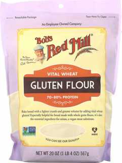 Купить Bob's Red Mill Vital Wheat Gluten Flour, 20 oz (567 g)