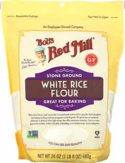 Купить Bob's Red Mill White Rice Flour, 24 oz (680 g)