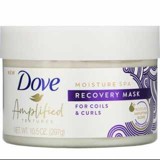 Купить Dove Amplified Textures, Recovery Hair Mask, 10.5 oz (297 g)